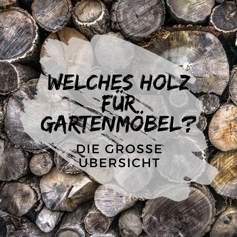Holz-Gartenmoebel