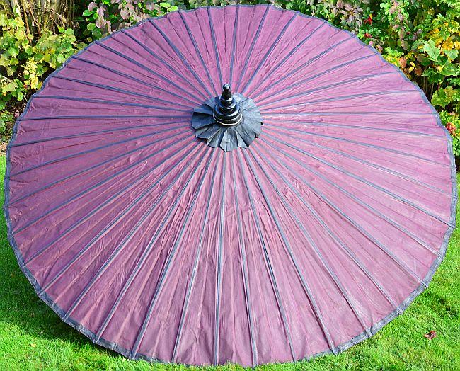 Asiatische Sonnenschirme , Sonnenschirm In Lila Modern Und Schick