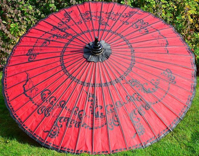 Asiatische Sonnenschirme gartenschirm sagaing gartenschirme