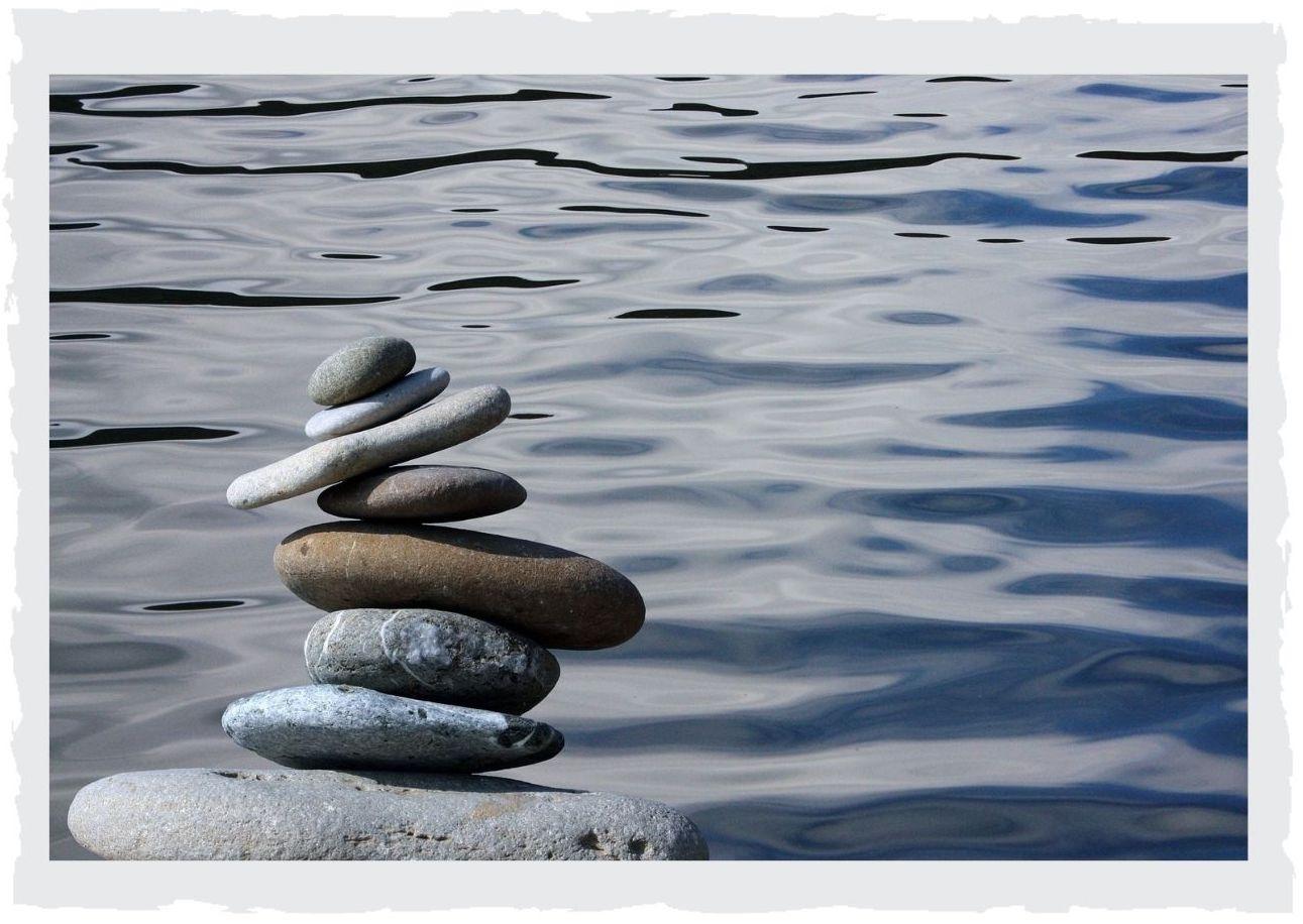 Steine-am-Wasser