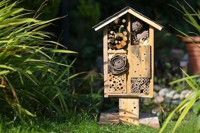 Insektenhotel-Beispiel