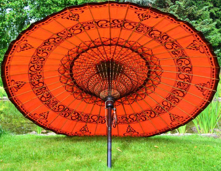 Sonnenschirm Asiatisch ein sonnenschirm für das gewisse etwas in ihrem garten
