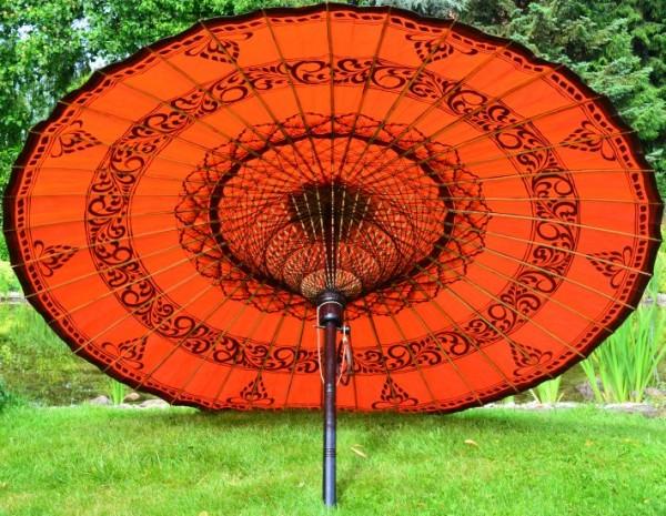 Asiatischer Sonnenschirm ein sonnenschirm für das gewisse etwas in ihrem garten