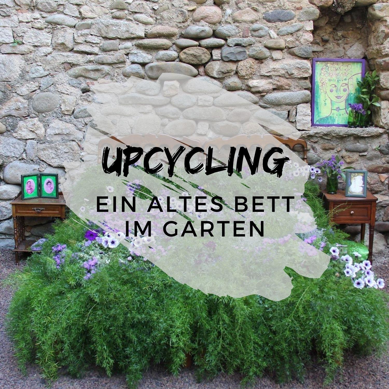 Upcycling-Ein-altes-Bett-im-Garten