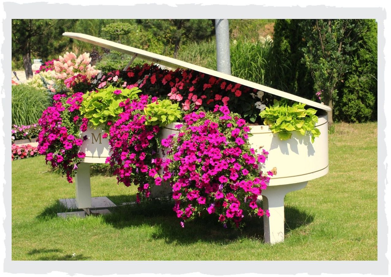 Klavier-Blumen