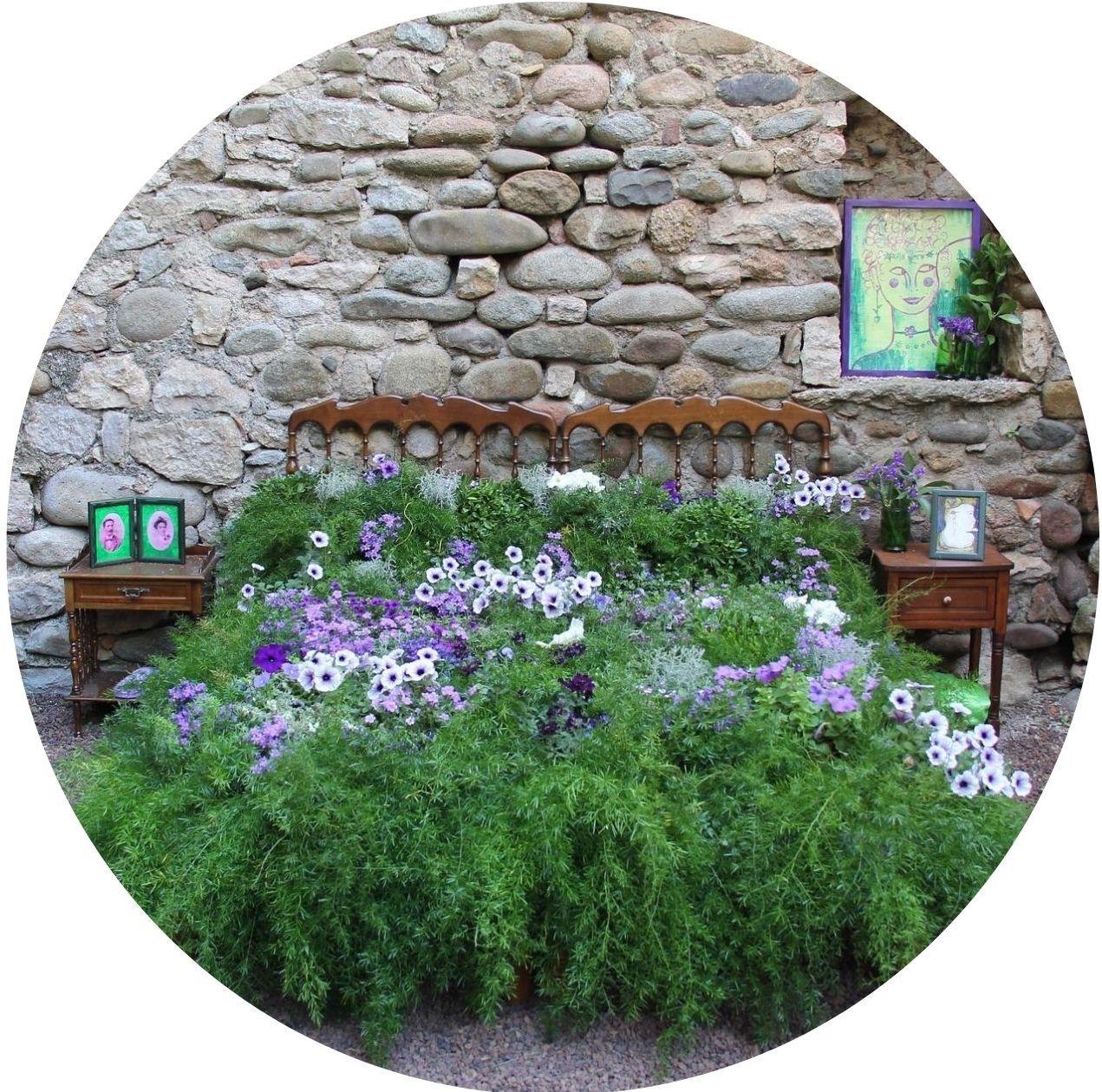 Bepflanztes-Bett
