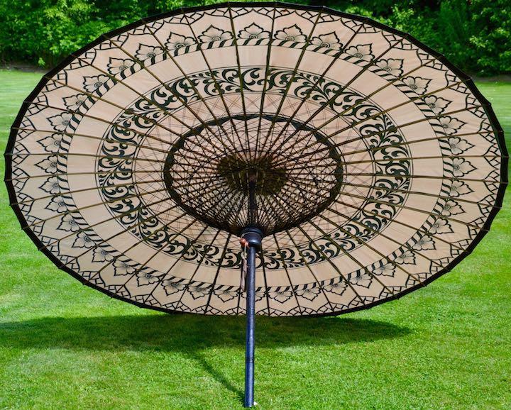 Sonnenschirm Asiatisch sonnenschirm bagan gartenschirme