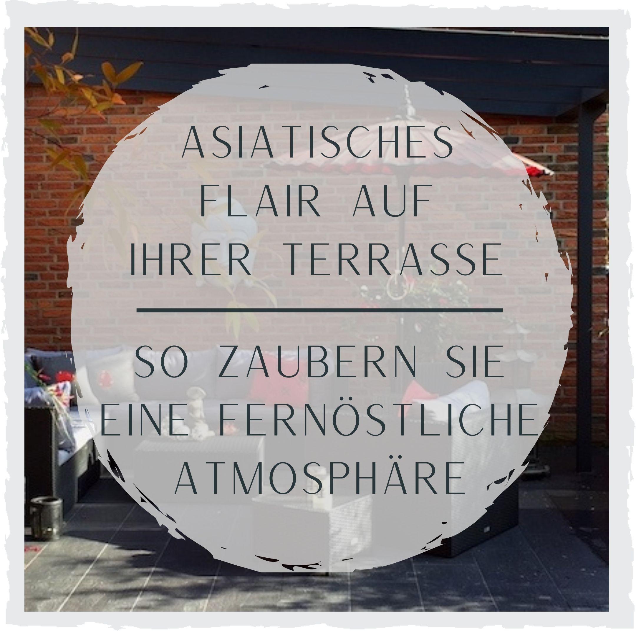 Asiatisches-Flair-Terrasse