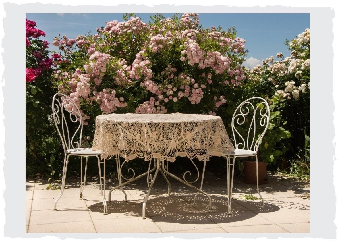 Blumen-Terrasse