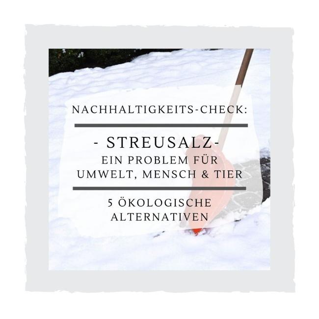 Streusalz-Alternativen