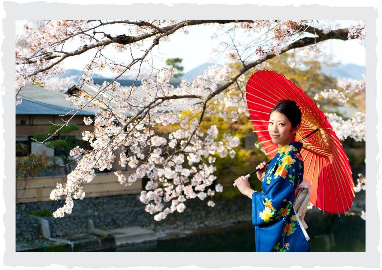 Japanerin-mit-Schirm